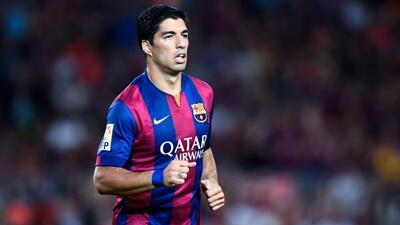 Suárez tendrá minutos de juego en un partido organizado al interior del...