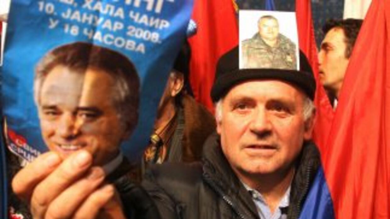 Desde 1995, Ratko Mladic jefe militar de los serbios de Bosnia, está acu...