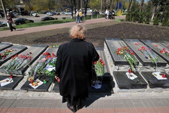 El secretario general de la ONU, Ban Ki-moon, recordó a las víctimas del...