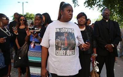 Funeral Corey Jones