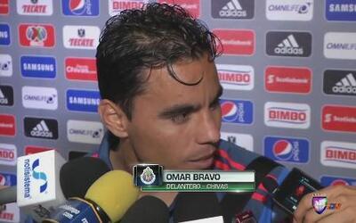 """Omar Bravo: """"Nos faltó ser contundentes"""""""