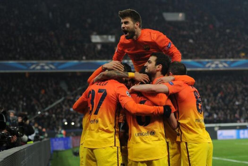 Parecía que el partido estaba resuelto y el Barcelona se llevaba la vent...