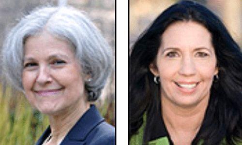 Los candidatos del Partido Verde: Dr. Jill Stein y Cheri Honkala. Se enf...