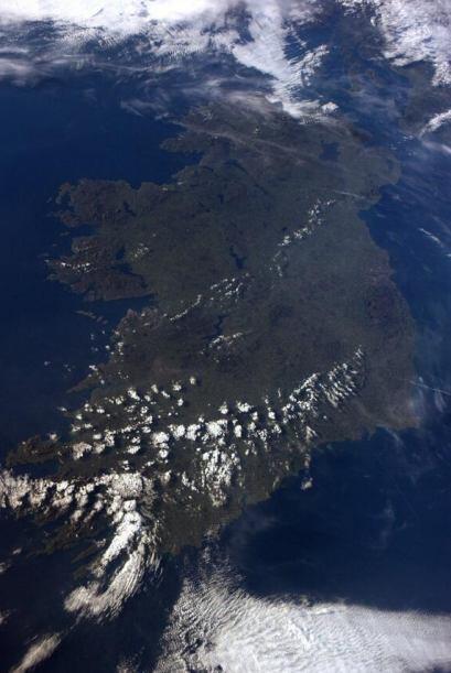 Hola Irlanda, había esperado mucho verte. Fotos de Reid Wiseman