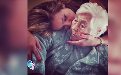 La abuela de Thalía fue intervenida quirúrgicamente y no recibió ni una...