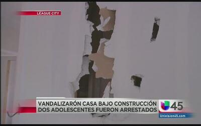 Adolescentes se grabaron destruyendo casa