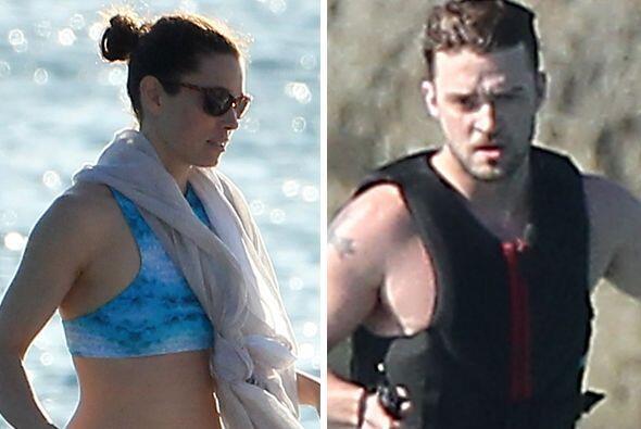 Justin Timberlake y Jessica Biel se escaparon a Barbados. Más videos de...