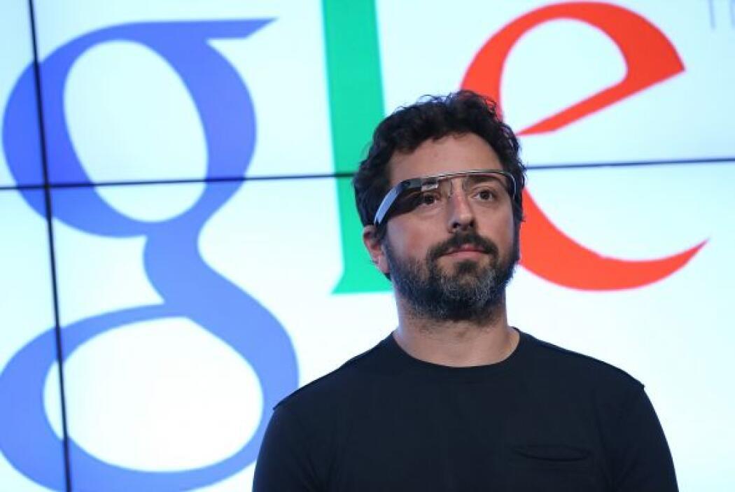6. Sergey Brin, el cofundador de Google, se encuentra en la sexta posici...