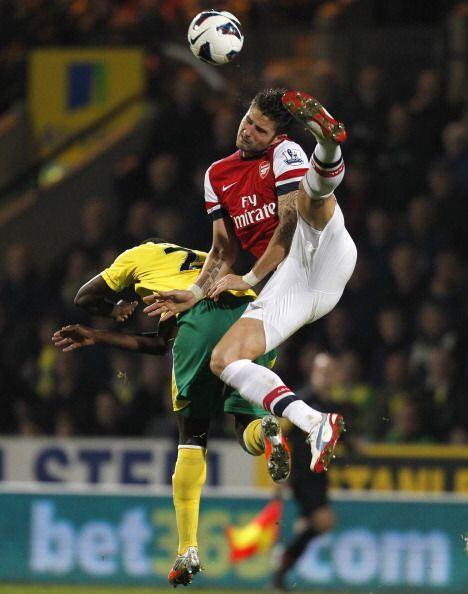 A partir del gol los 'gunners' aceleraron en busca del empate.