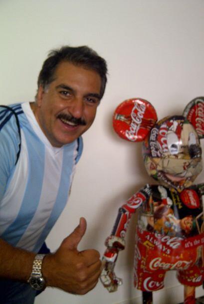 Mickey Mouse y Coca Cola. Dos clásicos de USA 'enlatados'.  ¿El Presiden...