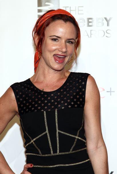 La actriz y cantante Juliette Lewis también forma parte de los famosos e...