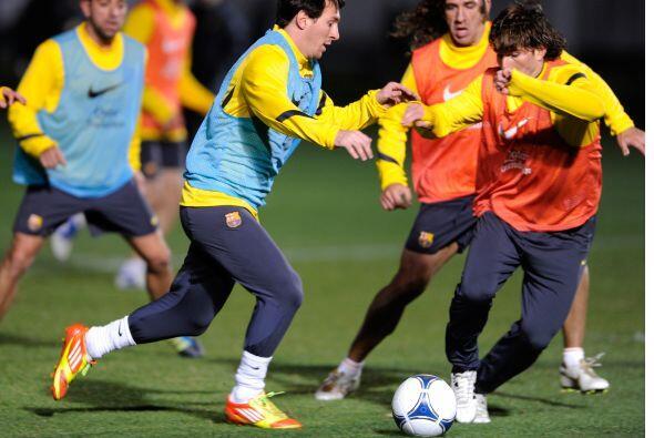 El Barcelona sigue alistando su debut en el Mundial de Clubes 2011, pero...