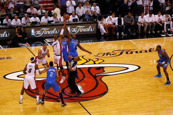 El quinto partido empezó y desde el principio el Heat domin&oacut...