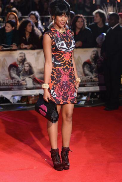 El nuevo fenómeno nacido de X-Factor, Tamera Foster, eligió un ajustado...