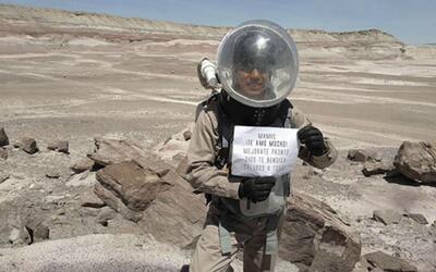 Estudiante mexicano le envía un mensaje a su abuela desde su misión de i...