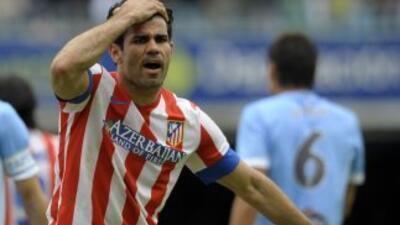 El brasileño Diego Costa hizo el primer gol de los 'Colchoneros'.