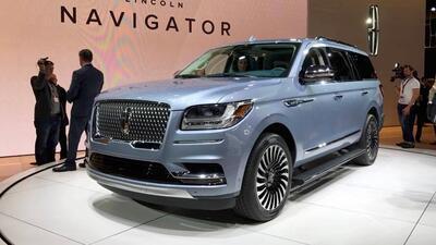 La totalmente nueva Lincoln Navigator 2018 debutó en el Auto Show...