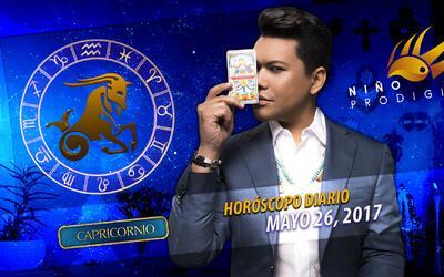 Niño Prodigio - Capricornio 26 de mayo 2017
