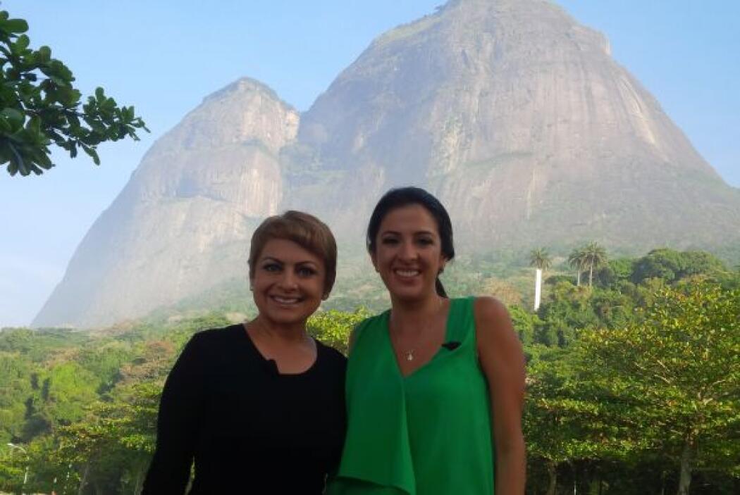 Maity Interiano visitó con María Antonieta Collins un maravilloso lugar...