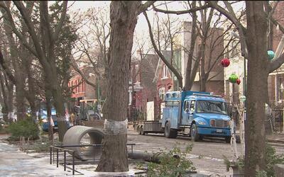 Una fuga de agua en Bucktown provoca cierre de carreteras