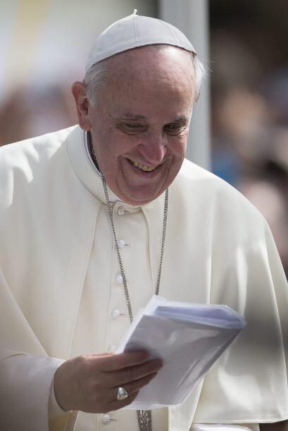 """El papa Francisco calificó el viernes como """"inolvidable"""" la fiesta de ac..."""