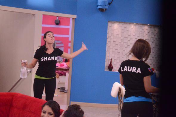 Laura llegó en defensa de George y las dos se dijeron de todo. Los prota...