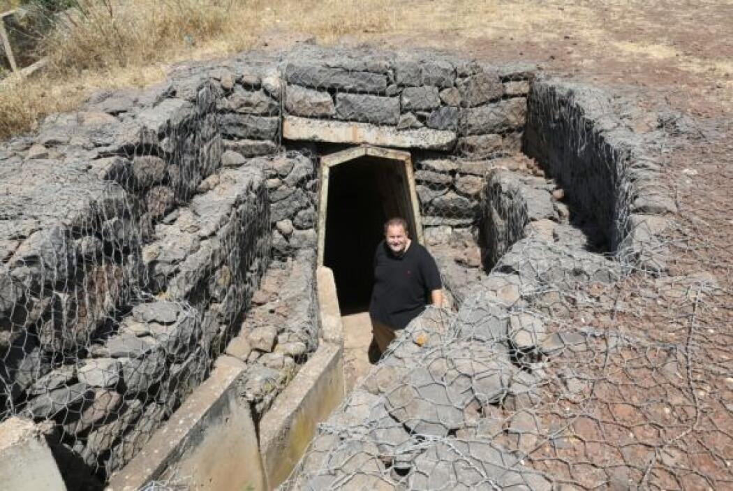 Otro sito que pudieron visitar fueron las cuevas subterráneas de Jerusalén.