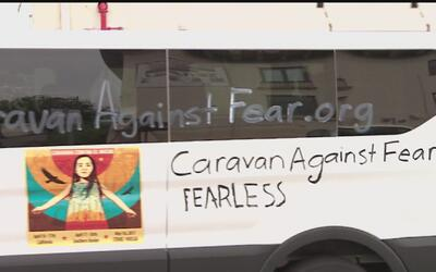 Este domingo parte desde Los Ángeles la denominada 'Caravana contra el m...
