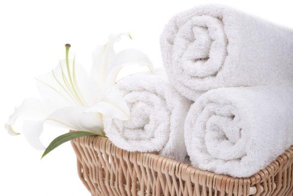 La ventaja de una toalla no estática se suma a la comodidad y a l...