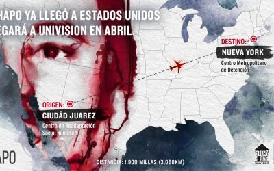 'El Chapo' llegará a Univision en abril