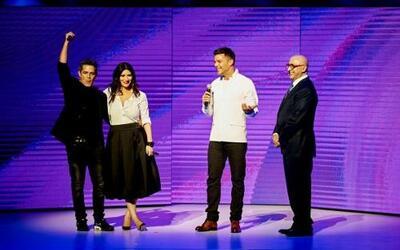 """Alejandro Sanz, Laura Pausini y Ricky Martin son los jueces de """"La Banda""""."""