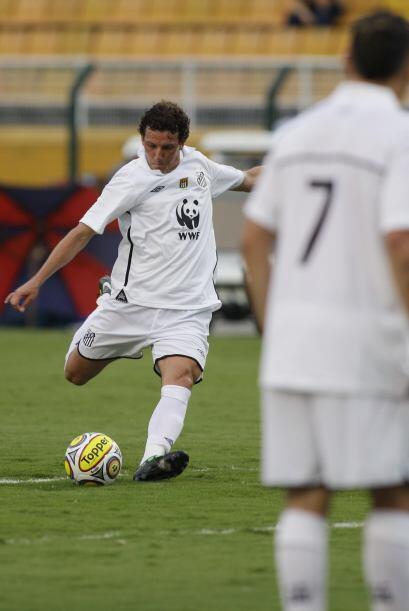 Santos tampoco cuenta con su estrella Neymar por estar en el Sudamerican...