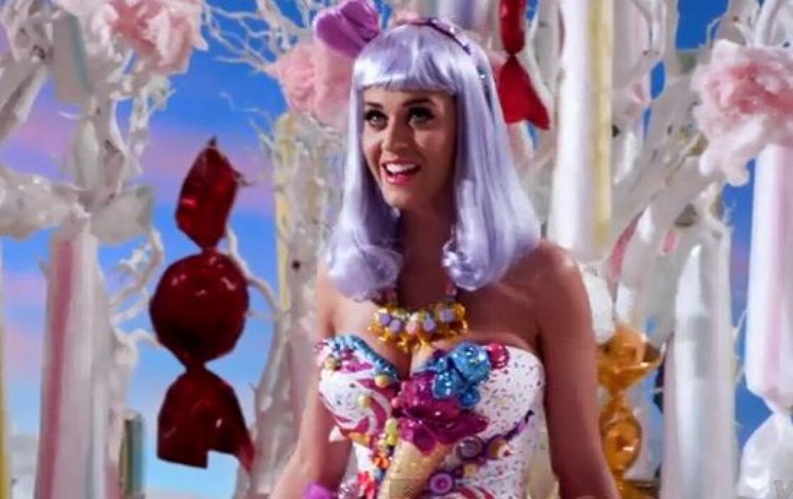 Sin duda, Katy es una de las famosas a las que el Photoshop sí les hace...