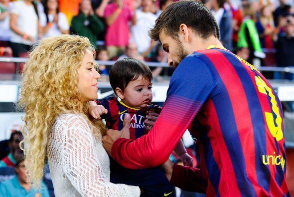 La cantante y el futbolista han formado una bonita familia.
