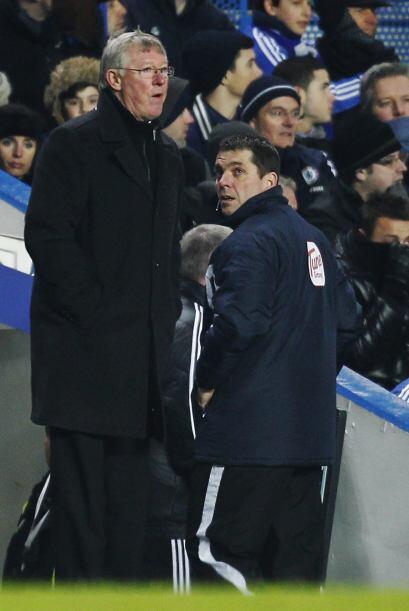 Para Sir Alex Ferguson el empate final a tres tantos le agradó po...