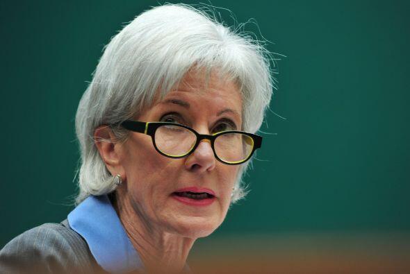 La secretaria de Salud, Kathleen Sebelius, dijo el miércoles durante una...