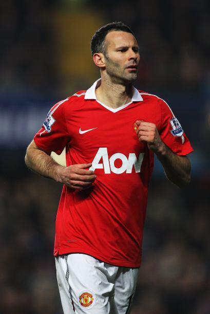 En el Manchester United hay una historia particular y se llama Ryan Gigg...
