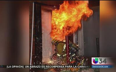 Investigan causas de sospechoso incendio
