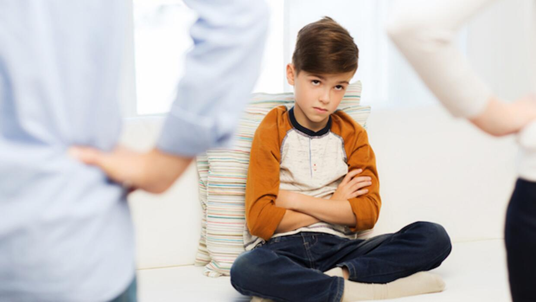What happens when you each have different parenting techniques?