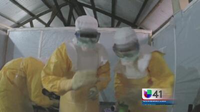 Militares se preparan en Texas contra el ébola