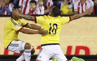 Colombia venció 1-0 a Paraguay