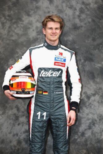 Nico Hülkenberg, Alemania, Sauber-Ferrari.