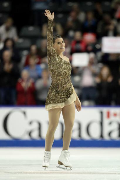 Cynthia Phaneuf de Canadá.