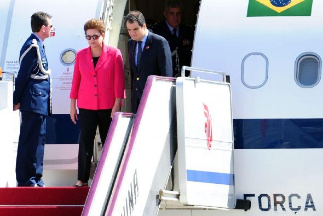 Este es el primer viaje a China de la mandataria brasileña.