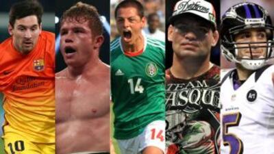 Ellos son deportistas a seguir en 2013.