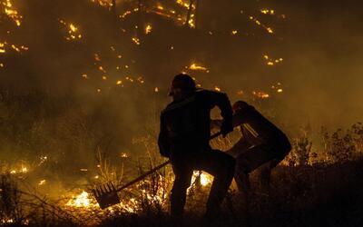 Hombre de la tercera edad murió luego de que un incendio consumiera su v...