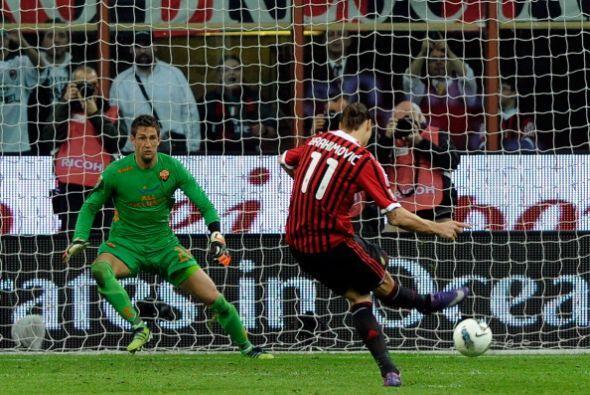Zlatan Ibrahimovic la pasa muy bien en el Milan. Luego de haberse consag...