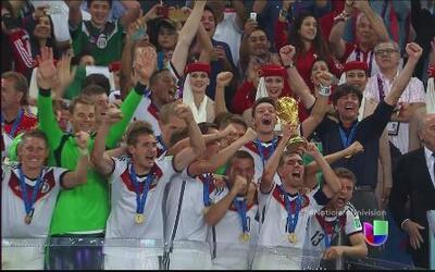 Así se vivió la victoria de Alemania