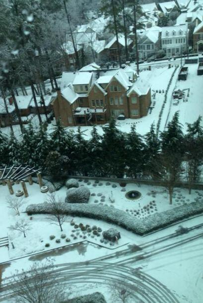 Elizabeth Gomes nos regala esta imagen aérea desde Buckhead, Atlanta.