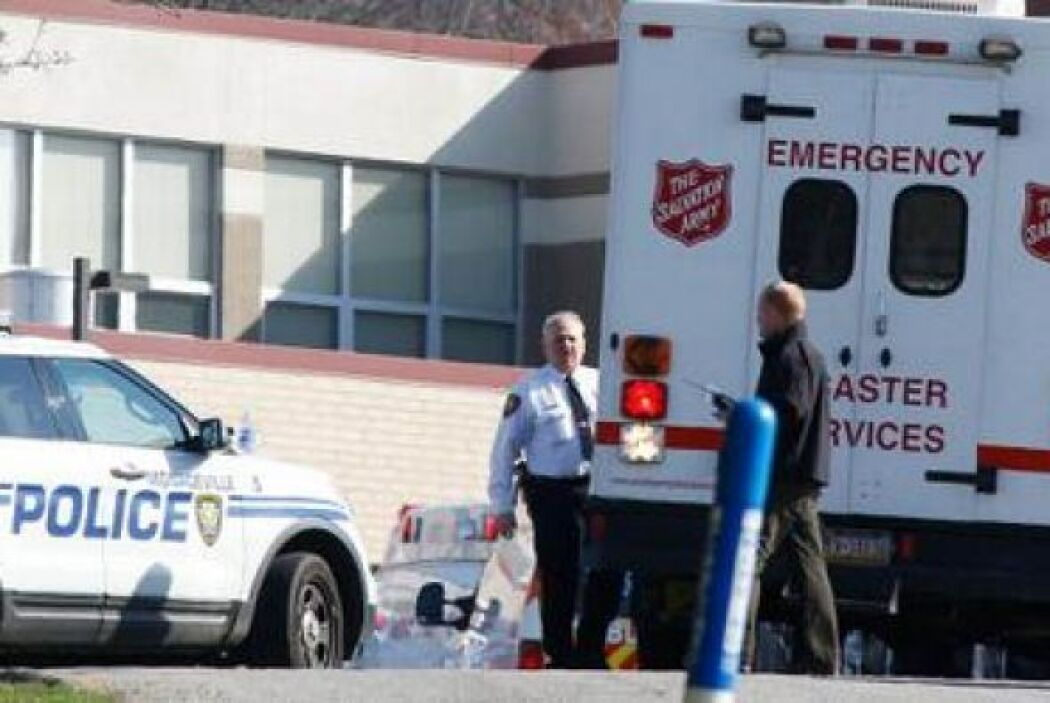 Se sabe que hay cuatro personas que fueron  heridas de gravedad. Foto to...